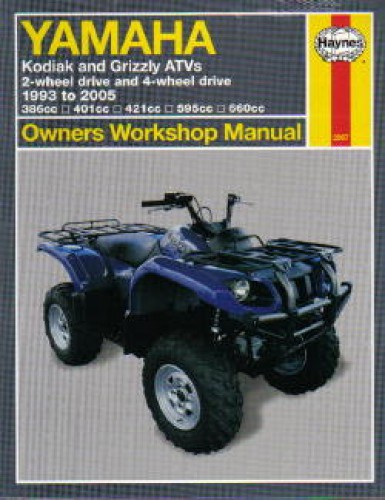 2002 yamaha grizzly 660 owners manual