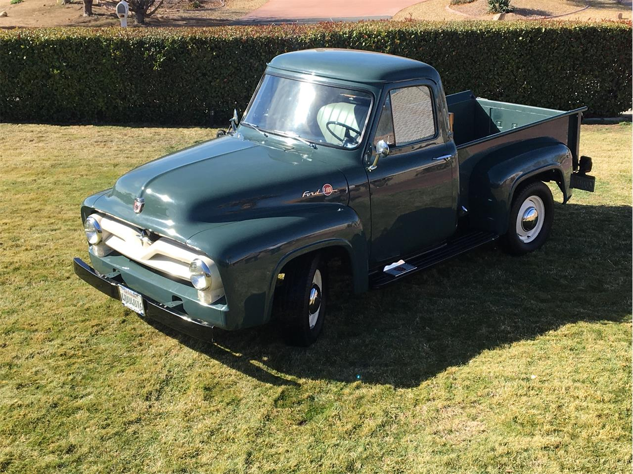 1955 ford f100 owners manual
