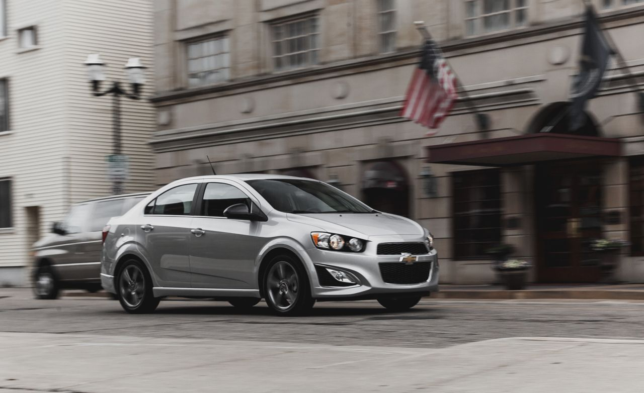 2014 chevy sonic owners manual