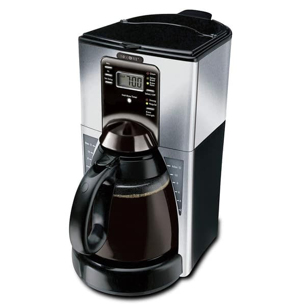 mr coffee 12 cup programmable coffee maker user manual