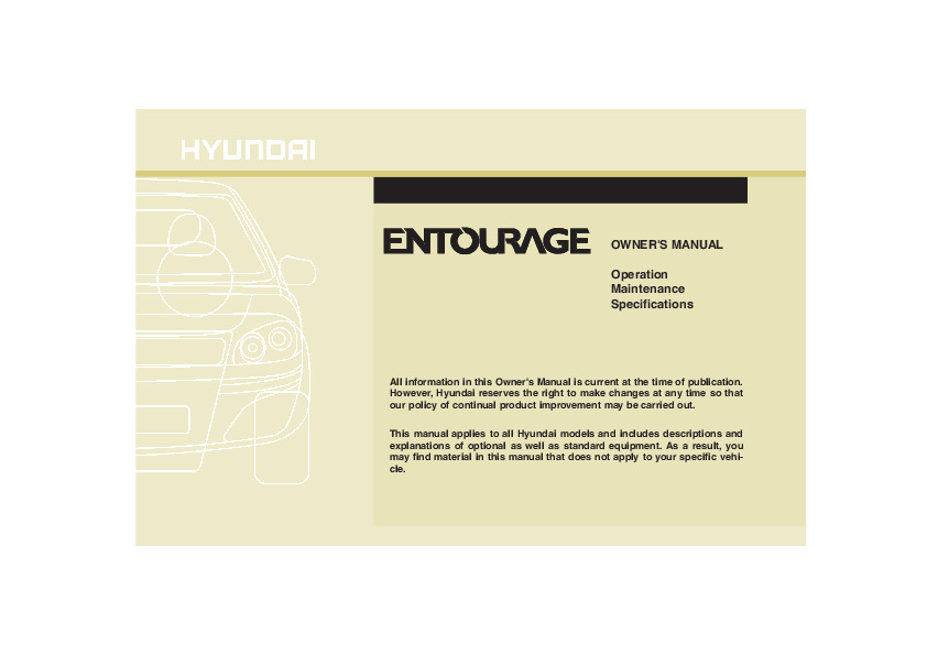 2008 hyundai entourage owners manual pdf