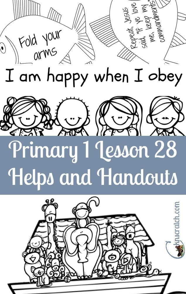 lds primary manual 2 lesson 28