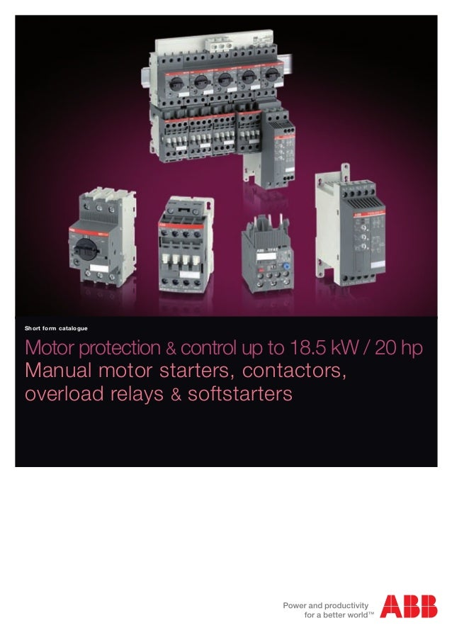 manual motor control and overload protection 2 learning activity packet