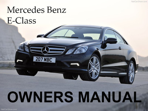 2003 mercedes benz e500 owners manual
