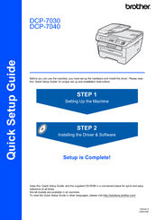 brother dcp 7065dn user manual